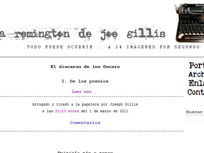 La Remington de Joe Gillis