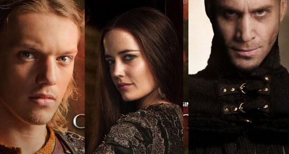 Arturo,Morgana y Merlín