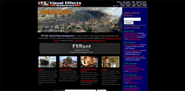 Visual Effects Headquarters VFXHQ