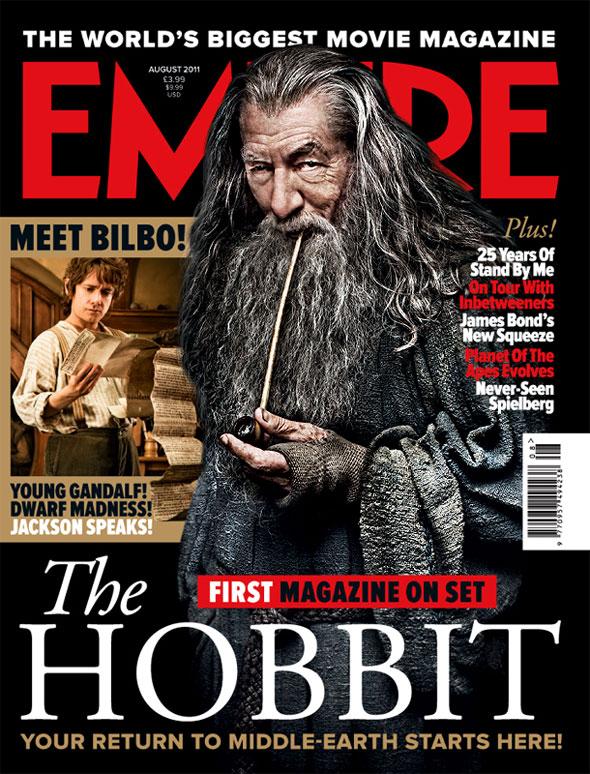 Gandalf y Bilbo,Portada de Empire