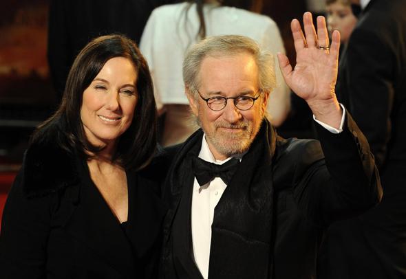 Kathleen Kennedy y Steven Spielberg