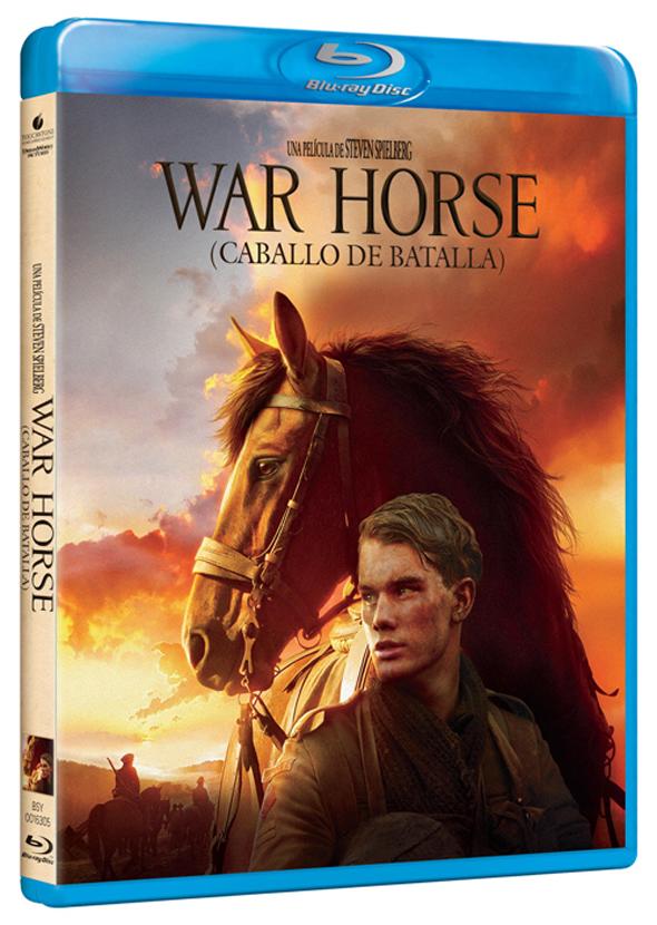 Carátula del Blu-Ray de 'War Horse'