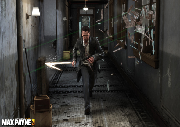 Comic Max Payne 3 Interior
