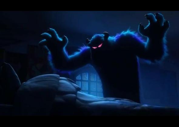 Monstruos University Trailer Interior