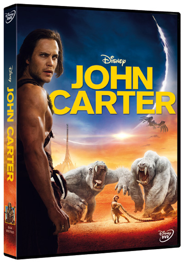 'John Carter', ya en DVD y Blu-Ray