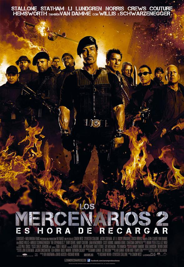 Los Mercenarios 2 Interior