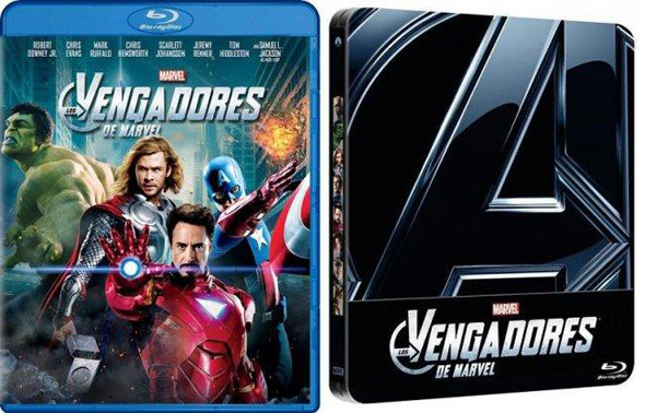 'Los Vengadores', ya a la venta en DVD y Blu-Ray