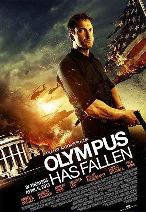 Olympus Has Fallen Interior