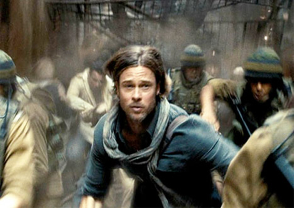nueva película de zombies Brad Pitt 2013