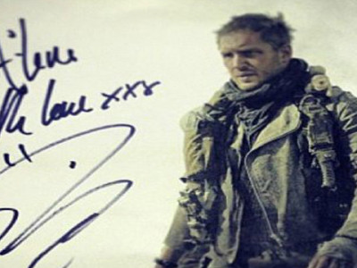 Tom Hardy como Mad Max Carrusel