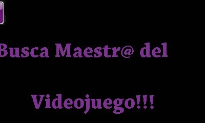 Buscamos Maestr@ del Videojuego ¿vas a ser tú?