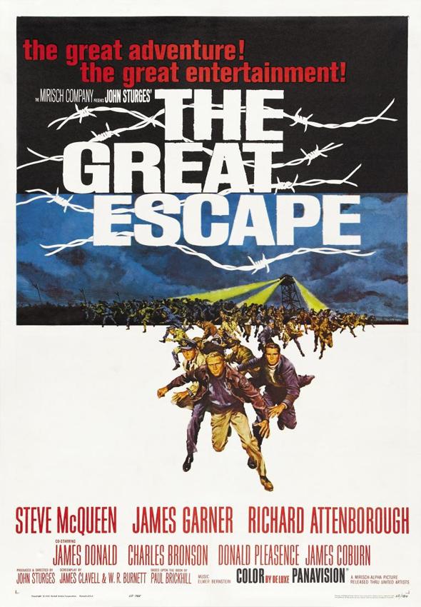 La Gran Evasion DVD Interior