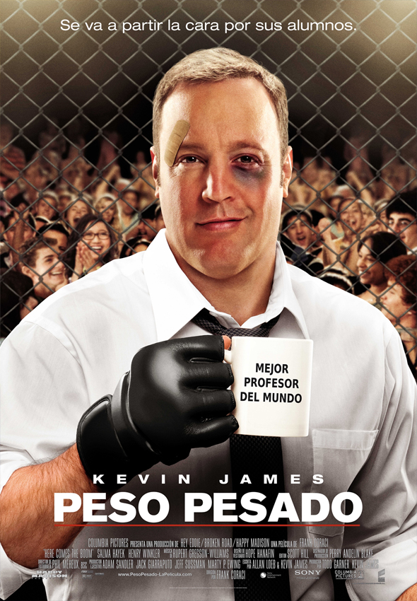Peso Pesado DVD Interior