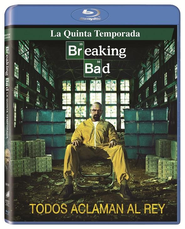 Breaking Bad dvd interior
