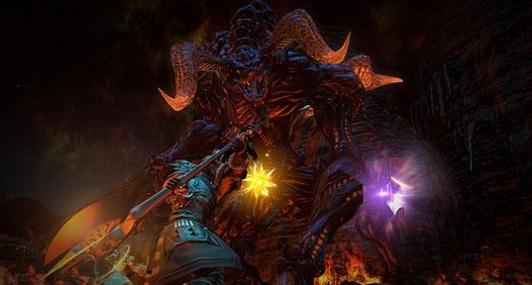 Final Fantasy XIV Pantalla de la Beta