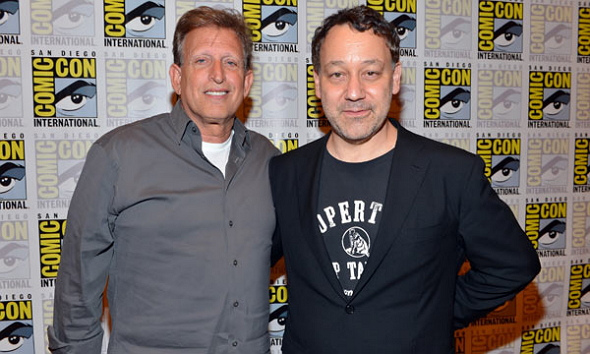 Joe Roth y Sam Raimi