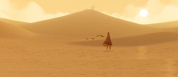 Journey. El desierto