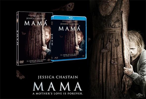 Mamá. DVD y Blu-ray