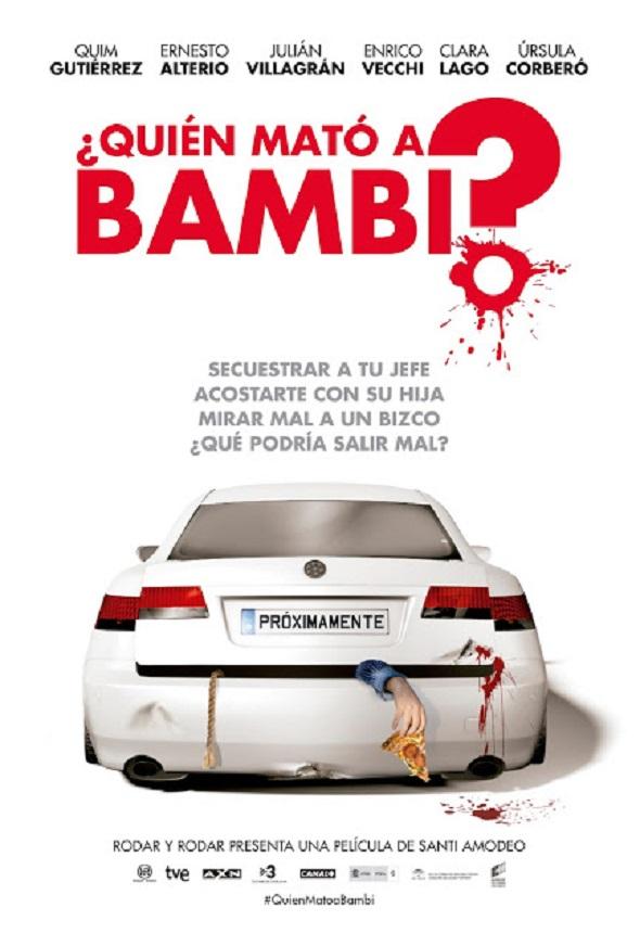 ¿Quien mato a la madre de Bambi?