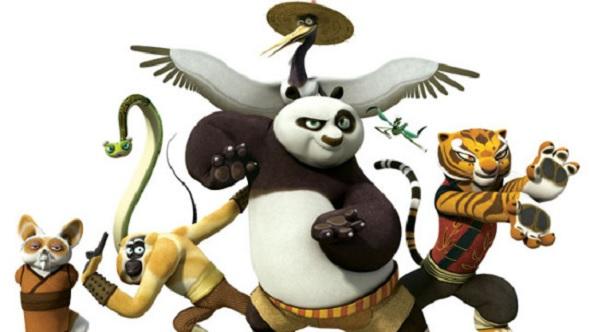 Kung Fu Panda y Dragones DVD interior 1