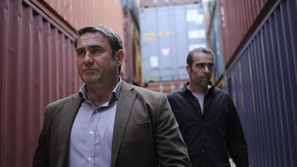 Sergi López y Luís Tosar en 'El niño'