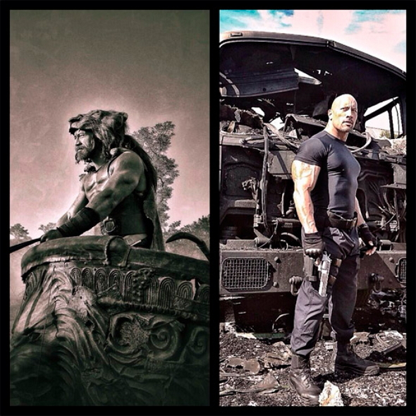 Hercules: The thracian wars & Fast 7