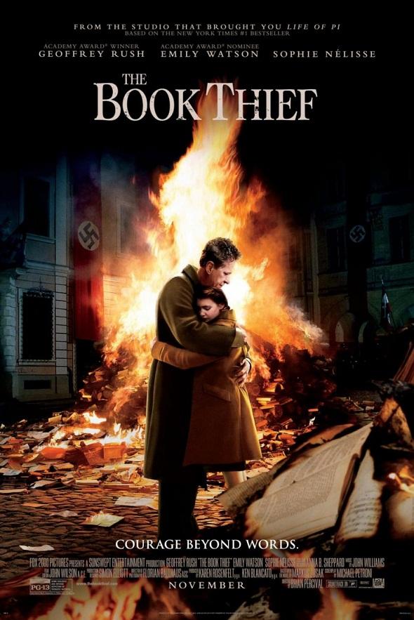 Póster de 'La ladrona de libros'