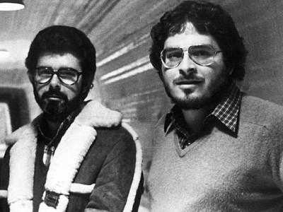 George Lucas y Lawrence Kasdan