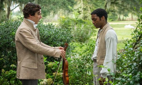 Benedict Cumberbatch y Chiwetel Ejiofor en '12 años de esclavitud'