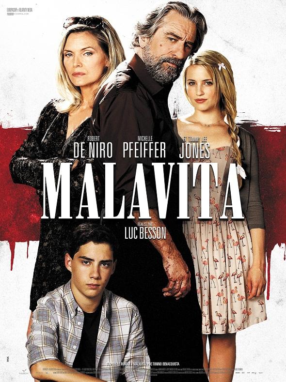 Poster de 'Malavita'