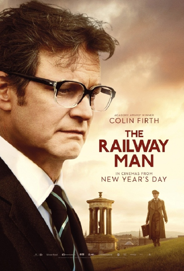 Póster de Colin Firth en 'Un largo viaje'