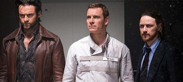 Jackman, Fassbender y McAvoy en 'X-Men: Días del futuro pasado'