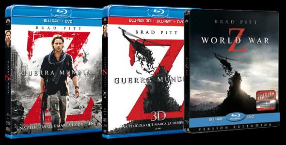 Ediciones DVD y BD de Guerra Mundial Z