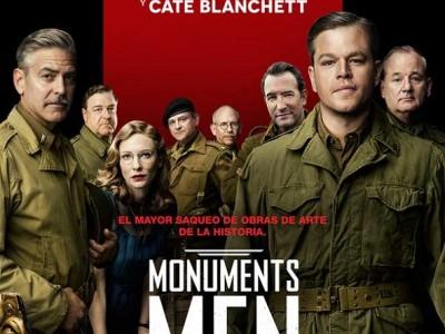 Monuments men. Póster