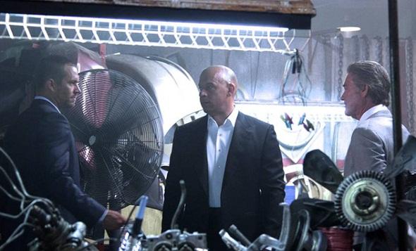 Paul Walker, Vin Diesel y Kurt Russell en 'A todo gas 7'