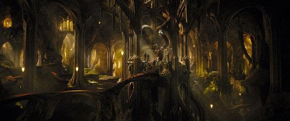 Fotograma de 'El Hobbit: La desolación de Smaug'