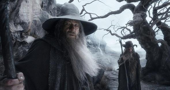 Ian McKellen como Gandalf en 'El Hobbit: La desolación de Smaug'