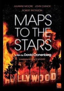 Póster promocional de 'Maps to the stars'