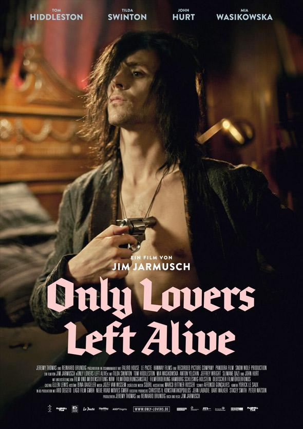 Póster Tom Hiddleston 'Only lovers left alive'