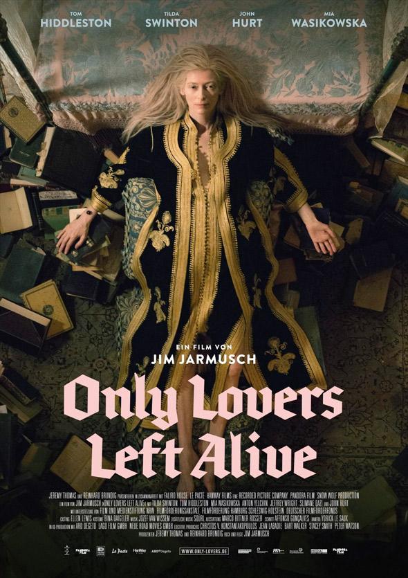 Póster Tilda Swinton 'Only lovers left alive'