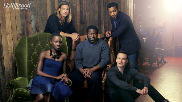 Steve McQueen y sus actores de '12 años de esclavitud'