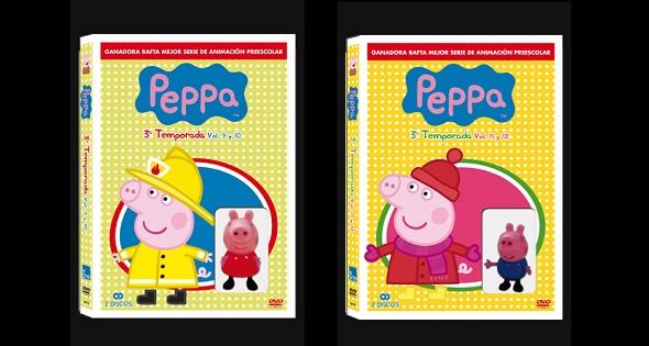 Peppa Pig. Tercera Temporada. Varios volúmenes.