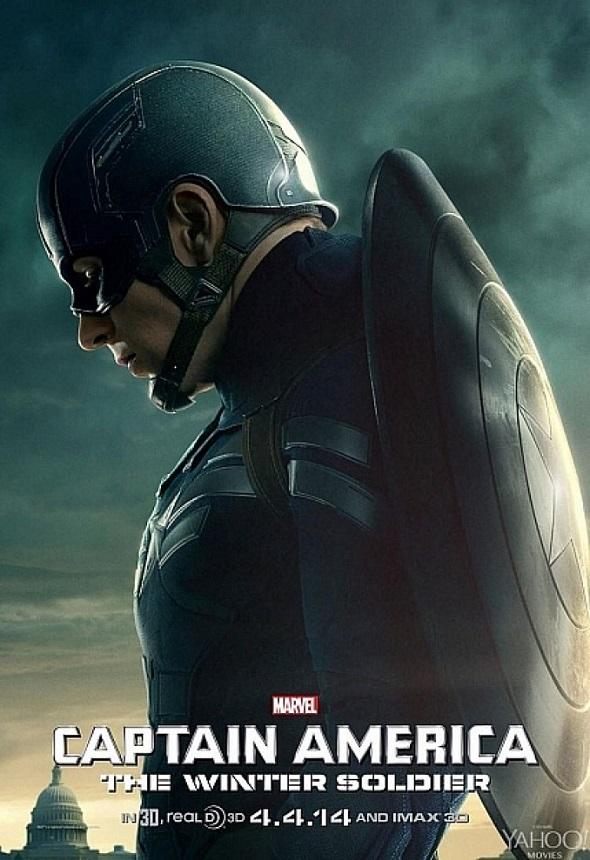 Capitán América: El soldado del invierno. Póster.