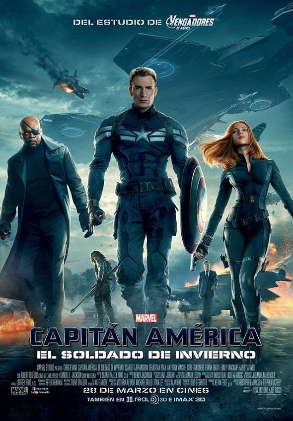 Capitán América. Póster español