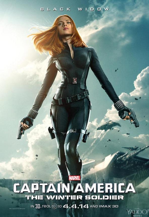 Captain America. Póster