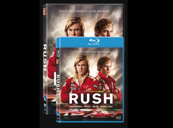 Rush. Edición DVD y BD
