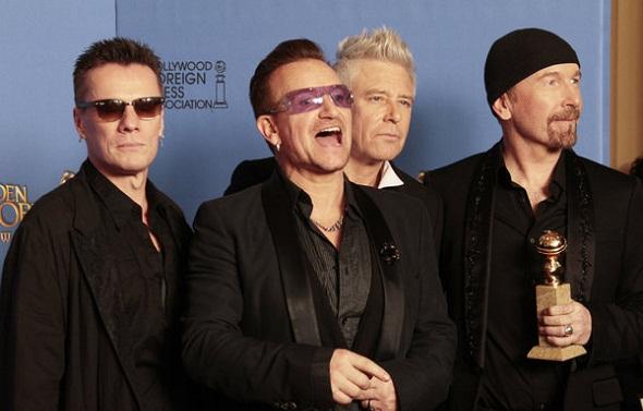 U2, mejor canción original por 'Mandela: Del mito al hombre'