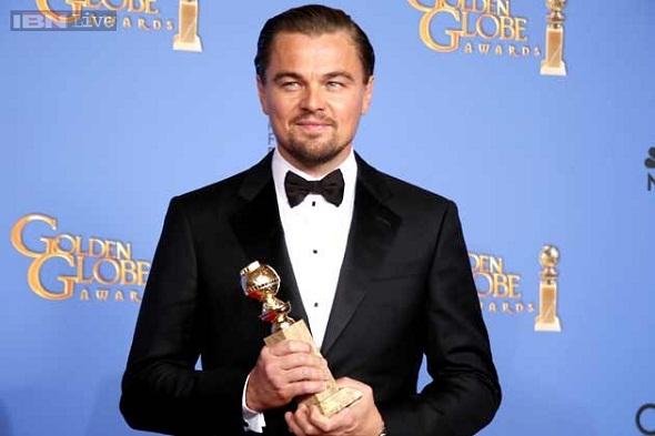 Leonardo DiCaprio, mejor actor comedia/musical