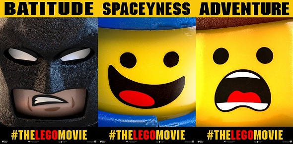 Banners internacionales de 'La LEGO película'