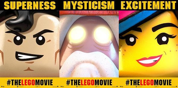 Otra tanda de banners internacionales de 'La LEGO película'